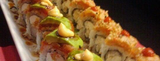 Konnichiwa Sushi is one of La Mesa.