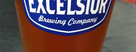Excelsior Brewing Co is one of Lugares favoritos de Jason.
