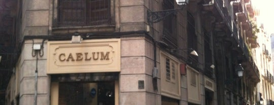 Caelum is one of tiendas y sitios bonitos de bcn.