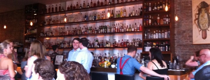 Cure is one of Esquire's Best Bars (A-M).