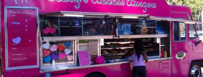 Baby's Badass Burgers is one of food trucks.