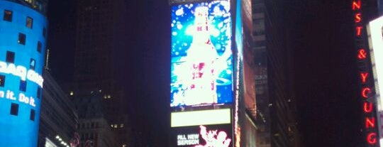 Times Square is one of New York to do list.