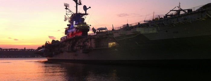 Intrepid Sea, Air & Space Museum is one of New York, NY.