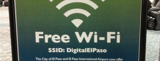 El Paso International Airport (ELP) is one of Free WiFi Airports.