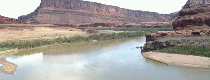 Colorado River is one of Arches Nat'l.