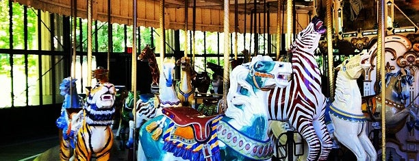 Golden Gate Park Carousel is one of Cali.