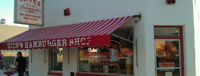 Nick's Hamburger Shop is one of Dan : понравившиеся места.