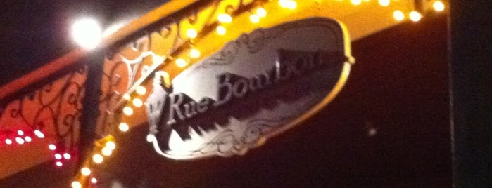 Rue Bourbon is one of When at The Fort.