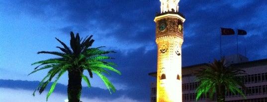 "Konak Saat Kulesi is one of ""Ekstra Koruma"" Alanları."
