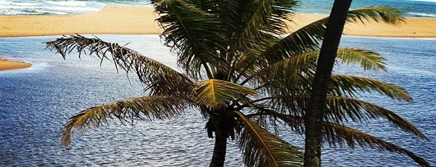 Praia de Imbassaí is one of Cristian : понравившиеся места.