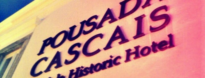 Pousada de Cascais - Cidadela Historic Hotel is one of Essen 12.