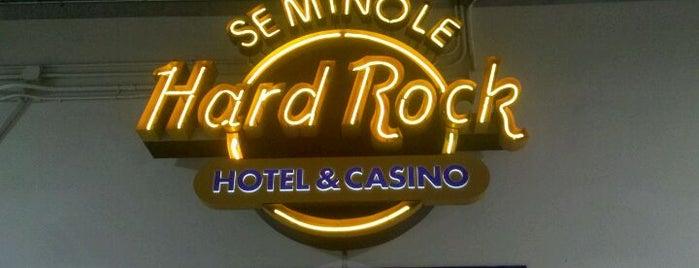 Seminole Hard Rock Hotel & Casino - Tampa Pool Bar is one of Casino.
