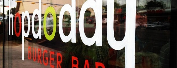 Hopdoddy Burger Bar is one of SXSW.