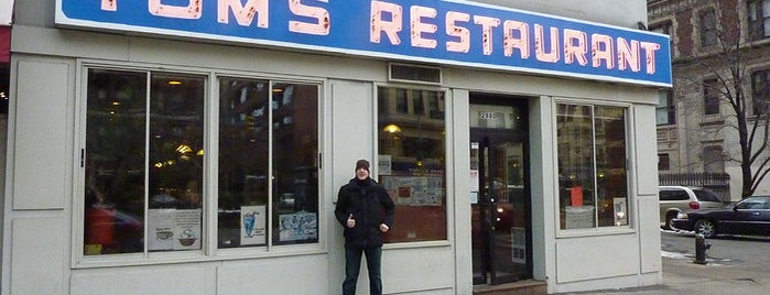 Tom's Restaurant is one of NY.