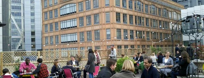 Queen of Hoxton Rooftop is one of London's best pubs & bars.