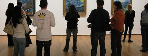 Museo d'Arte Moderna (MoMA) is one of NYC.