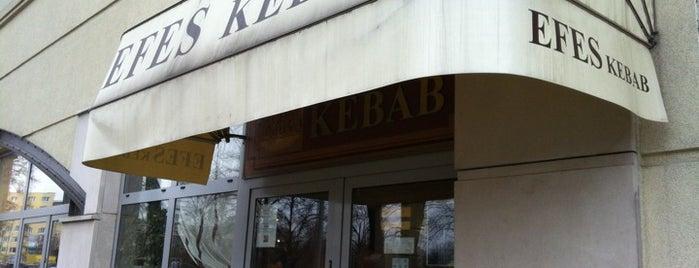 Efes Kebab is one of Tempat yang Disimpan Andrej.