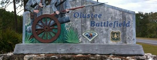 Olustee National Battlefield is one of JAX.