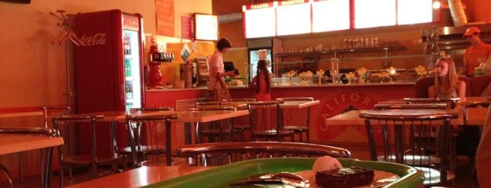 «Калифорния пицца / California Pizza» is one of Dmitriy : понравившиеся места.