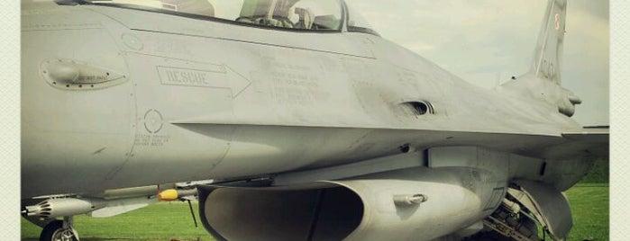 31 Baza Lotnictwa Taktycznego - Krzesiny is one of Lieux qui ont plu à Tomek.