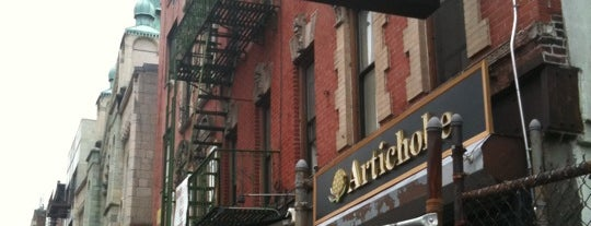 Artichoke Basille's Pizza is one of New York Lifestyle Guide.
