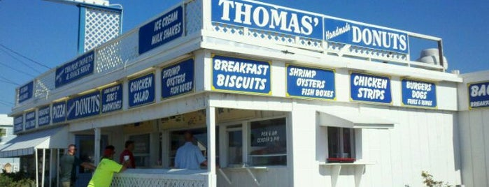 Thomas Donut & Snack Shop is one of Nick's Liked Places.