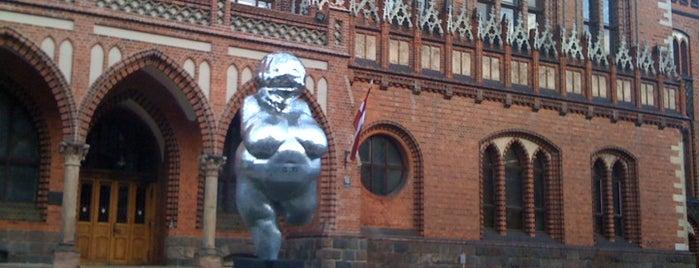 Latvijas Mākslas akadēmija is one of Art Galleries & Art Museums in Riga.