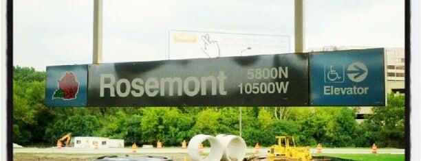 CTA - Rosemont is one of Tempat yang Disukai Heidi.