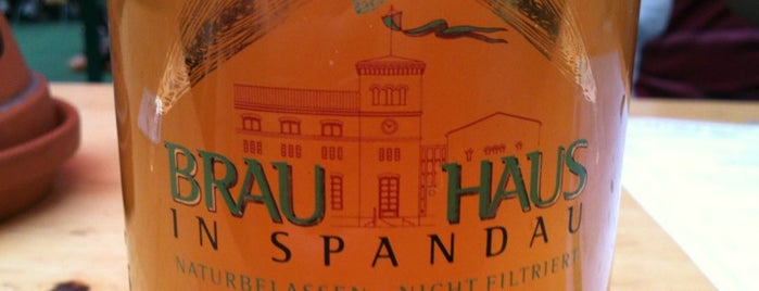 Brauhaus Spandau is one of Lugares guardados de Adam.