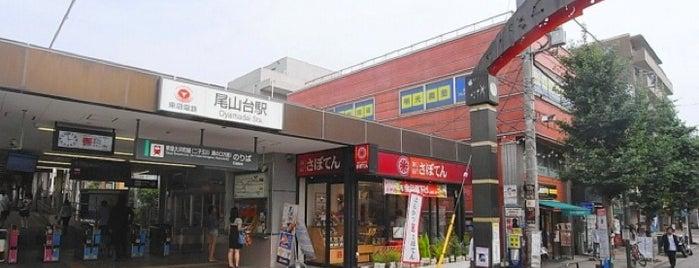 尾山台駅 (OM12) is one of 東急大井町線.