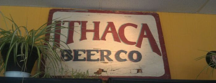 Ithaca Beer Co. Taproom is one of Best US Breweries--Brewery Bucket List.