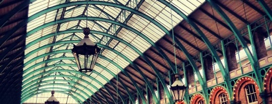 Covent Garden Market is one of London Essentials.