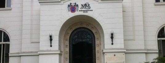 Museo Metropolitano de Lima is one of Bienal de Fotografia de Lima.