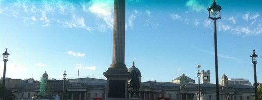 จัตุรัสทราฟัลการ์ is one of Dirty FUXX's Guide to London on the Cheap.