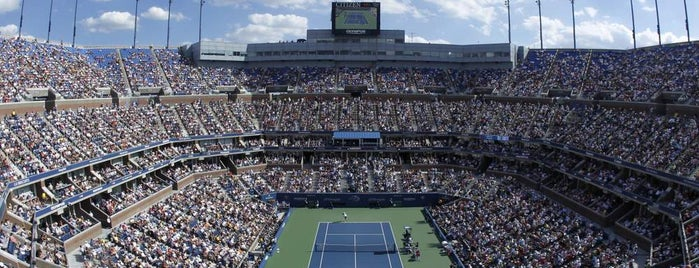 Arthur Ashe Stadium is one of nyc.