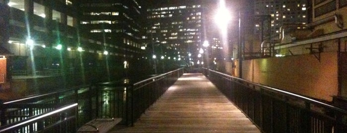 Kendall Waterfront Walkway is one of My Boston Bean.