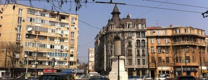 Piața Mihail Kogălniceanu is one of Tempat yang Disukai Valeria.