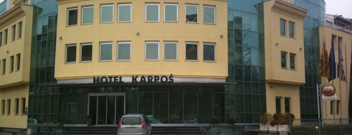 Hotel Karpoš is one of Zeynepさんのお気に入りスポット.