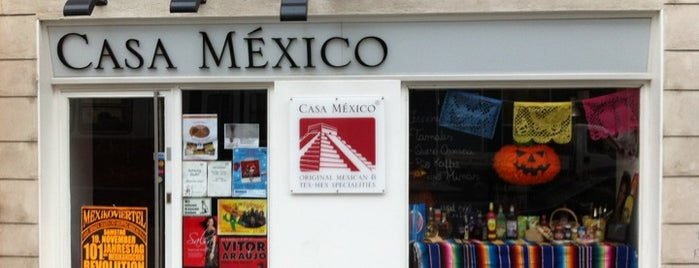 Casa México is one of Vienna.