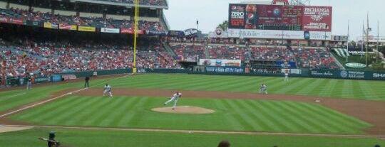Angel Stadium of Anaheim is one of Major League Baseball Parks.