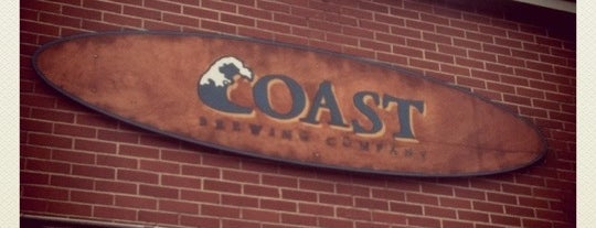 COAST Brewing Company is one of Best US Breweries--Brewery Bucket List.