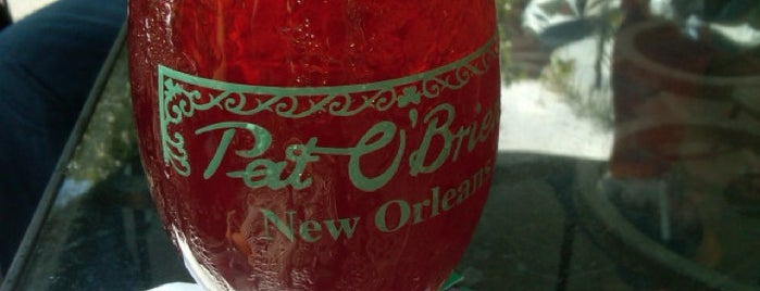Pat O'Brien's is one of New Orleans Bars.