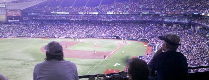 Tropicana Field is one of Major League Baseball Parks.
