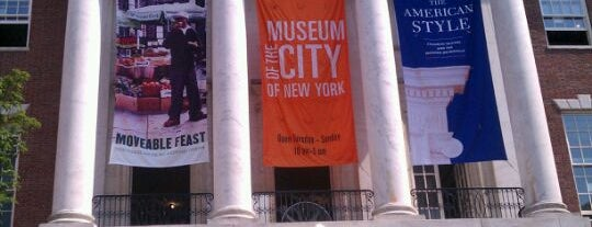 Museum of the City of New York is one of NYC's Upper East Side.
