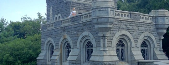 Belvedere Castle is one of Personal NY.