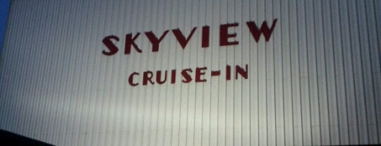 Skyview Drive-In is one of TAKE ME TO THE DRIVE-IN, BABY.