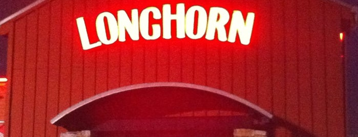 LongHorn Steakhouse is one of Robert.