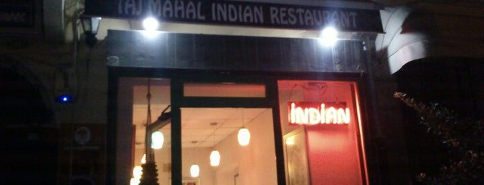 Taj-Mahal Indian Restaurant is one of İstanbul Yemek Turu :).