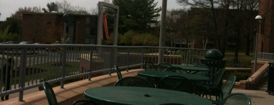 Case Center Patio (Porter Plaza) is one of Study Spots.