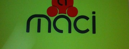 aMaci is one of Literes korsós helyek.